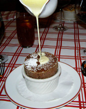 Chocolate Souffle -  The Jockey Club at The Fairfax at Embassy Row, Washington, DC
