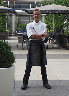 Chef Mitchel Eldridge -- Juniper at Fairmont Washington DC - photo by Luxury Experience