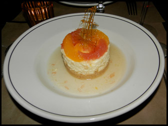 Cheesecake - Ken &  Cook Restaurant & Bar , New York - photo by Luxury Experience