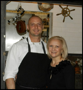 Chef Richard Diamonte and Debra Argen - photo by Luxury Experience