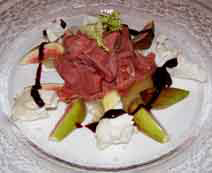 Kurhaus Restaurant - Grand Hotel Heiligendamm, Germany - Fig and Goat Cheese Salad