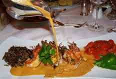 Kurhaus Restaurant - Grand Hotel Heiligendamm, Germany - Prawns