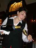La Terrasse - Hotel Bellevue Palace Bern, Switzerland - Sommelier Esther