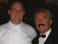 Victoria Jungfrau Collection - La Terrasse - Chef Michael Wehrle and Maitre d'hotel Raffaele Esposito
