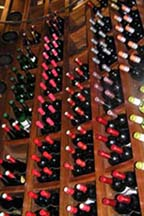 Inside the Wine Cellar at Le Belem at Cap Est Lagoon Resort and Spa
