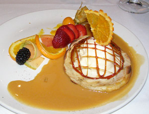 Dessert at Restaurant Le Graffiti, Quebec, Canada - Photo by Luxury Experience