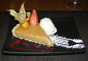 Auberge Le Saint-Gabriel Dining Room, Montreal, Canada - Maple Sugar Tarte - Photo by Luxury Experience