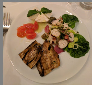 Antipasti - The Leopard at des Artistes NYC - photo by Luxury Experience