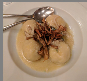 Gnudi Buffalo Ricotta Gnocchi  - The Leopard at des Artistes NYC - photo by Luxury Experience