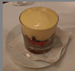 Traditional Zabaione - The Leopard at des Artistes NYC - photo by Luxury Experience