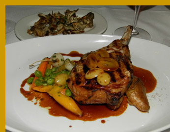 Berkshire Pork Chop - l'escale Restaurant Bar, Greenwich, CT, USA - photo by Luxury Experience