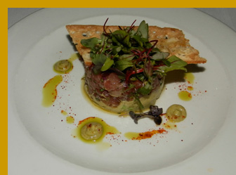 Tuna Tartare - l'escale Restaurant Bar, Greenwich, CT, USA - photo by Luxury Experience