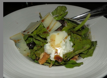 Arugula Salad - photo by Luxury Experience
