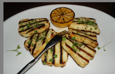 Grilled Halloumi - photo by Luxury Experience