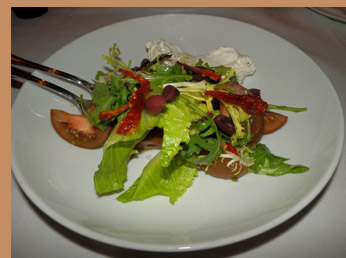 Insalata Com a Capri - Mamo restaurant NYC - photo by Luxury Experience