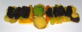 Margaux, Berlin, Germany, Chef Michael Hoffman - glazed winter vegetables