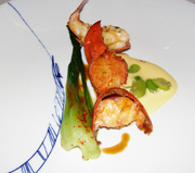 Margaux, Berlin, Germany, Chef Michael Hoffman - lobster