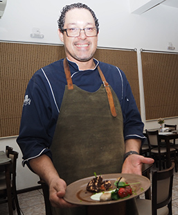 Chef Sylvio Trujillo - photo by Luxury Experience