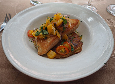 Freshwater Catfish (pintado) by Chef Sylvio Trujillo - Photo by Luxury Experience