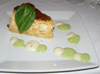 Mameres Crab Cheese Cake - Marsha Brown Creole Kitchen and Lounge, New Hope, PA - Photo by Luxury Experience