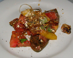 Bistro Mezzaluna, Fort Lauderdale, Florida - Heirloom Tomato