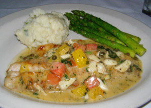 Bistro Mezzaluna, Fort Lauderdale, Florida - Yellowtail Snapper