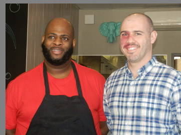 Chef Howard McCall, Eugene Kabilnitsky - Miro Kitchen - Fairfield, CT - photo by Luxury Experience