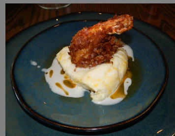 Coconut Shrip + Grits -Miro Kitchen - Fairfield, CT - photo by Luxury Experience