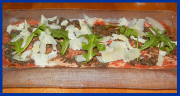 Beef Carpaccio - Morello Italian Bistro, CT, USA - photo by Luxury Experience