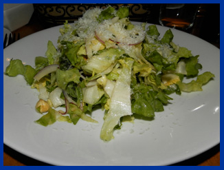 Excarole Salad - Morello Italian Bistro, CT, USA - photo by Luxury Experience