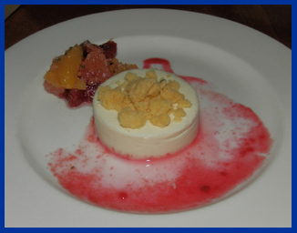 Panna Cotta - Morello Italian Bistro, CT, USA - photo by Luxury Experience
