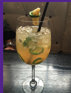 Feisty Spicy Cocktail - photo by Luxury Experience