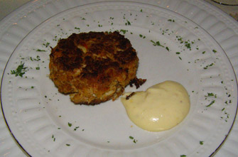 Cajun Crabcakes - The Notchland Inn, Hart's Location, New Hampshire - Photo by Luxury Experience