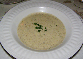 Mushroom Soup - The Notchland Inn, Hart's Location, New Hampshire - Photo by Luxury Experience