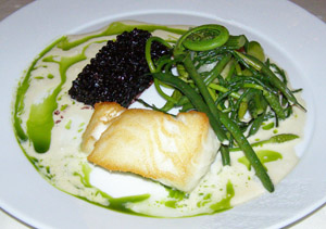 Chilean Seabass - Nuances, Casino du Montreal, Canada - Photo by Luxury Experience