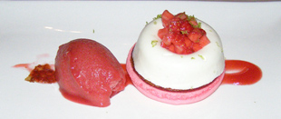 Strawberry Dessert - Nuances, Casino du Montreal, Canada - Photo by Luxury Experience