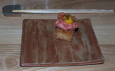 A5 Japanese Miyazaki Beef - OKO kitchen - photo by Luxury Experiene
