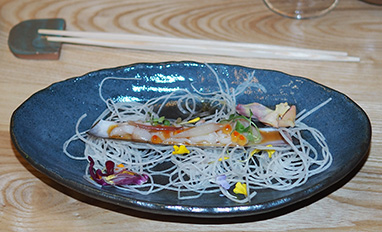 Razor Clam - OKO Kitchen - photo by Luxury Experience