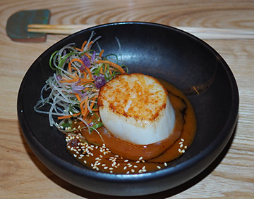 Seared Sea Scallop - OKO kitchen - Photo by Luxury Experience