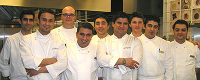 Chef Eyup and his team