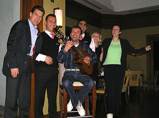 Entertainment at Olives Restaurant