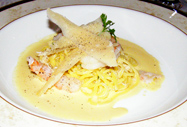 Orchids Restaurant, Hayfield Manor, Cork, Ireland - Crab and Prawn Linguini