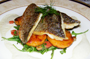 Orchids Restaurant, Hayfield Manor, Cork, Ireland - Seabass