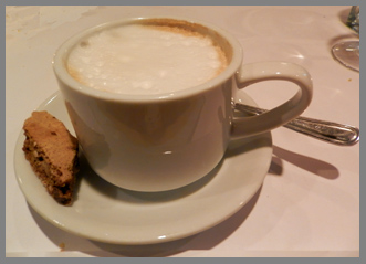 Cappuccino - Osteria Salina, Bridgehampton, NY, USA - photo by Luxury Experience