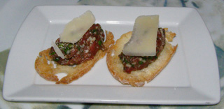 Beef Tartar - Panache Restaurant, Quebec, Canada - Photo by Luxury Experience