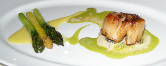Pan-Seared Scallop - Panache Restaurant, Quebec, Canada - Photo by Luxury Experience
