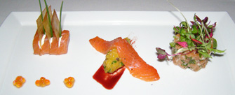 Salmon - Panache Restaurant, Quebec, Canada - Photo by Luxury Experience