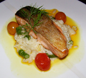 Perrots Garden Bistro, Hayfield Manor, Cork, Ireland - Salmon