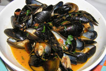 Polpo Restaurant and Saloon - mussels