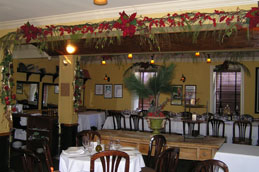 Polpo Restaurant and Saloon upstairs dining